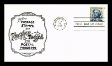 DR JIM STAMPS US 5C WASHINGTON PHOSPHOR TAGGED BOERGER ABC FIRST DAY COVER