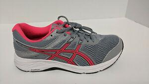 Asics Gel-Contend 6 Running Shoes, Grey, Women's 8.5 Wide