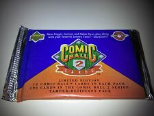 1991 Upper Deck Comic Ball 2 Pack Of 12 Cards 5 Pack Lot Looney Tunes Ryan