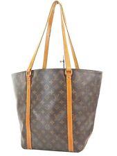 Authentic LOUIS VUITTON Sac Shopping Tote Monogram Shoulder Bag #37212
