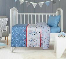 Crib Bedding Set 100% Cotton3 pieces Quilt, Fitted Sheet, Pillow Case
