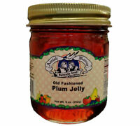 Amish Made Plum Jelly - 9 oz - 2 Jars - FREE SHIPPING