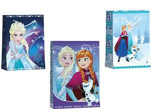 Frozen Geschenk Verpackung Geschenktüte Geschenktasche Kindertasche Kinderbeutel