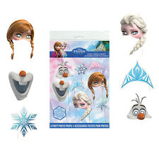 Disney Frozen Photo Booth Props [8pc] Birthday Party Game Activity Decorations