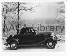 1933 Ford V8 Coupe on Mountain Road, Factory Photo (Ref. # 41867)