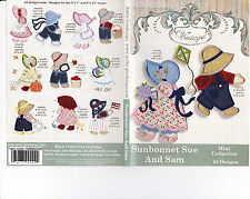 Anita Goodesign Sunbonnet Sue and Sam Embroidery Machine Design CD NEW 109MAGHD