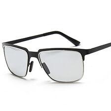 BLACK Men Transition Photochromic Polarized lenses Sunglasses Eyewear C7014ST