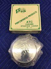 Honda ATC 90-110,1974-1980 Big Al's Chrome Starter Cover NOS Aftermarket