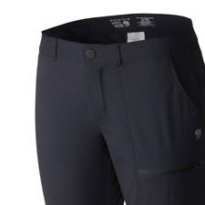 "Mountain Hardwear Women's Metropass Pant Trousers Black Size 2 (S) Inseam 29"""