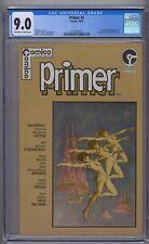 PRIMER #5 CGC 9.0 1ST SAM KIETH ART 1ST MAX THE HARE