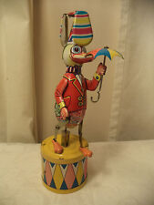 Vintage tin toy Circus Duck Made in China NOT Working.