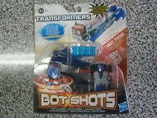 Transformers Bot Shots Optimus Prime Launcher Battle Game-Neuf