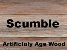 Scumble Crystals to create a naturally aged / weathered look effect on wood  50g
