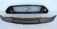 2018 - 2021  Ford Mustang OEM front bumper cover upper lower grille set