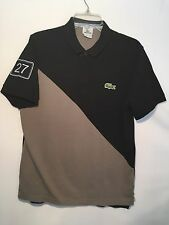 Vintage & Authentic Lacoste 🐊 Mens Polo Shirts Sz. 4 Medium #27 On Sleeve EUC