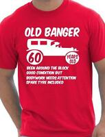 60th Birthday Mens T shirt Gift Present Funny Novelty Gift Sizes Small - xxl