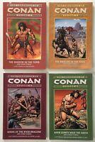 The Chronicles of Conan Volume 5 7 9 10 Graphic Novel / TPB Dark Horse Comic Lot