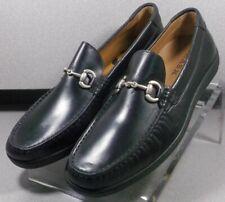 301625 TSP50 Men's Shoes Size 9 M Black Leather Slip On H.S. Trask