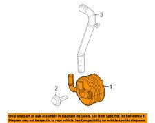 FIAT OEM 2012 500 Transmission Oil-Fluid Cooler 68137296AA