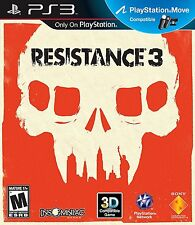Resistance 3  Sony Playstation 3 -PS3 NEW
