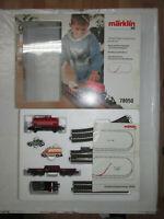 Märklin 78050 Ergänzungspackung Einsatzzug mit Güterwagen PKW Gleis OVP Spur H0