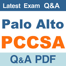 Palo Alto PCCSA Real Exam Questions & Answers - PDF