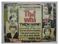 The Who Poster Old Shot Really Cool promo
