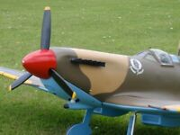 A pair of black Spitfire Exhausts (115mm long) from 3Dclever