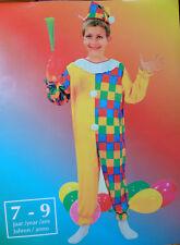 Kostüm Kinderkostüm Clown Universalgröße für 7-9 Jahre