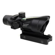 Terminus Optics TOC1 Green Dot BDC Reticle 4x32 Magnification Acog Style Scope
