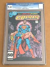 Crisis on Infinite Earths 7CGC 9.4 Death of Supergirl George Pérez cover DC