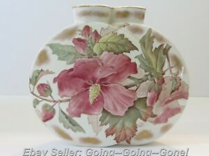 RARE DOUBLE MOON VASE TC BROWN WESTHEAD MOORE & CO STAFFORDSHIRE 1800'S GORGEOUS