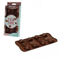 Stampo Silicone 15 Tea Time Cioccolatini Cioccolato Fiori dolci Torta Silikomart