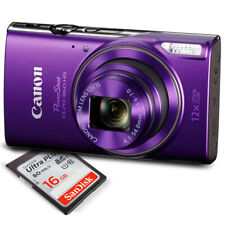 Canon PowerShot ELPH 360 HS (Purple) with 12x Optical Zoom and Built-In Wi-Fi...