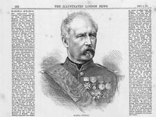 1870 FRANCO GERMAN WAR:  Portrait MARSHAL M'MAHON French General (096a)