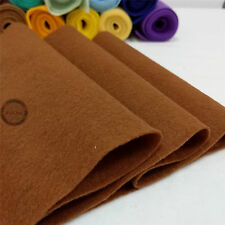 Roll By the Yard Soft Felt Fabric Non woven Sheet Wool Blend Craft DIY Material