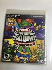 Sony PlayStation 3 PS3 Marvel Super Hero Squad The Infinity Gauntlet NEW SEALED
