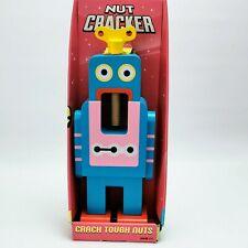 More details for suck uk large blue robot nutcracker designed by matthias zschaler
