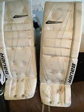 New listing Bauer Reactor Ice/Roller Hockey Goalie Leg Pads Senior (33+2)