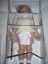 "SHIRLEY TEMPLE 33"" DANBURY MINT PLAYPAL DOLL  New in Box with stand & COA"