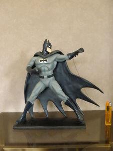 figurine Batman Figure resine vitage films movie 32 cms retro toy statue