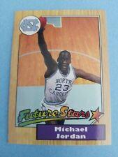 Michael Jordan University North Carolina Tar Heels Novelty Basketball Card