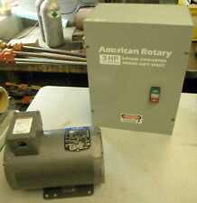 American Rotary 3-Phase Converter HD/CNC Soft Start 3HP 2.2kW/240V
