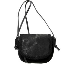 Esprit Small Shoulder Bag Suede Ladies Handbag Sequin Bag NEW