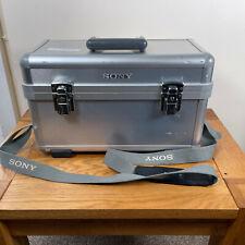 Genuine Sony LCH-TRV950 Aluminium Hard Carrying Case - Silver Flight Case