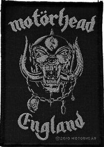 Motörhead England Aufnäher Patch-Rock-Metal-Shop NEU & OFFICIAL!
