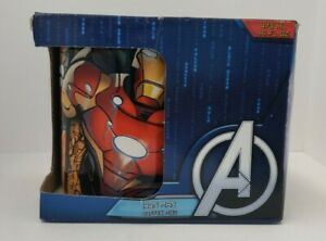 Marvel Avengers Iron Man 16oz Ceramic Mug New In Box!