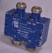 TRM (-3)dB - 90* & 3dB - 0* Hybrid Combiner Coupler HQ123XN