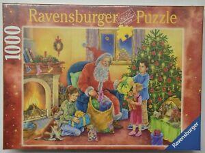 Ravensburger Santa Claus christmas fun puzzle jigsaw 1000 Sealed box NEW 2005
