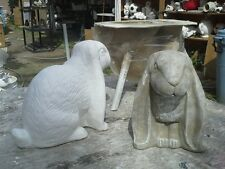 concrete plaster mold (bunny)  latex n fiberglass NEW MOLD